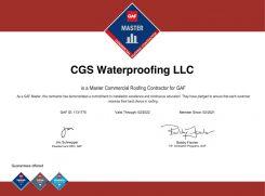 CGS-waterproofing-certificate6